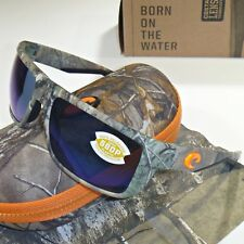 39949bea9771b Costa Del Mar Motu Polarized Sunglasses-Realtree Xtra Camo Blue Mirror 580P  Lens