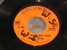 Jimmy Dean, Little Bitty Big John/Steel Men