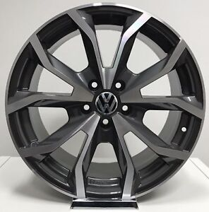 4x-Cerchi-in-lega-Volkswagen-Golf-5-6-7-Passat-Tiguan-da-18-034-Offerta-nuovi-S1