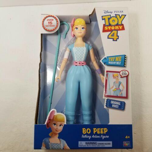 """Disney Pixar Toy Story 4 Bo Peep 14/""""Tall Talking Friend w Accessory NEW"""