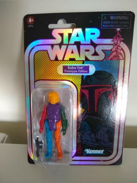 Star Wars Prototype Boba Fett Figure.(yellow helmet) NEW IN HAND TARGET