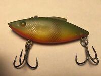 Rat-L-Trap - Bill Lewis 1/4 Oz Yellow Perch Color Lipless Crankbait Fishing Lure