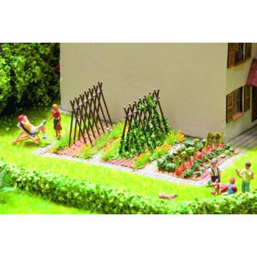 Laser Cut Minis Kit HO Gauge Scenics 14604 6 NOCH Bean Supports