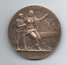 FRENCH / ART MEDAL BY GRANDHOMME / PRO PATRIA / MILITARY PREPARATION / M50