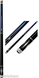 NEW-Players-C-805-Blue-Stained-Pool-Cue-FREE-US-SHIP-Jt-Caps-amp-Q-Wiz