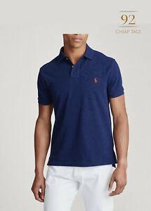 Ralph-Lauren-Mesh-Polo-Men-039-s-Short-Sleeve-Shirt-Custom-Slim-Fit
