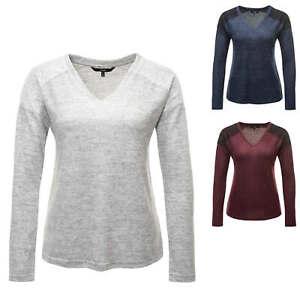 Schnelle Lieferung Vero Moda Damen Feinstrick Pullover V-neck Jumper Sweater Sale % Schnelle WäRmeableitung Pullover & Strick Kleidung & Accessoires