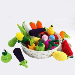 Amigurumi fruits and veggies play set | Bubanana | 300x300