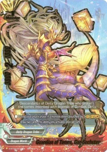 Guardian of Tomes Gar-Sechster Buddyfight 1x S-BT02//0073EN Secret