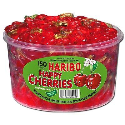 (4,45€/1kg) Haribo Happy-Cherries, Kirschen, Fruchtgummi, 150 Stück