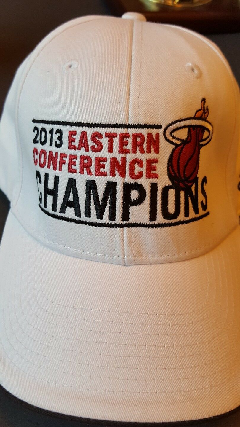 Miami Heat Eastern Conference - NBA Champs 2013 Adidas - Adjustable Hat Cap Adidas 2013 33fb48