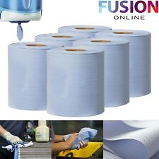 Centrefeed Tissue Roll Paper Hand Towel Gym Commercial Industrial Blue