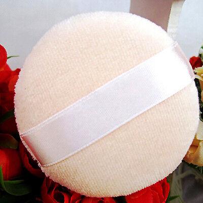 7CM Large Face Body Powder Puff Foundation Cosmetic Makeup Soft Sponge Silk Lady