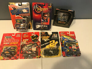 Nascar-Racing-Champions-Diecast-1-64-Scale-Lot-of-7-War-Paint-Wallace-Elvis