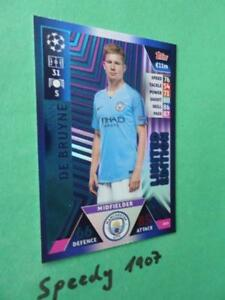 Topps-Champions-League-18-2019-limited-Edition-De-Bruyne-Squad-Match-Attax-LE15