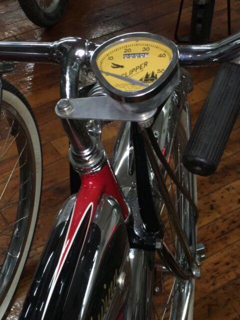 Bicycle Speedometer All Metal Stewart Warner Schwinn Phantom Cruiser Speedo USA