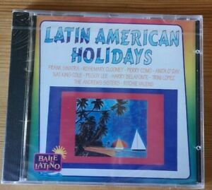LATIN-AMERICAN-HOLIDAYS-NEW-CD-SEALED-Sinatra-Como-Belafonte-Valens-Clooney