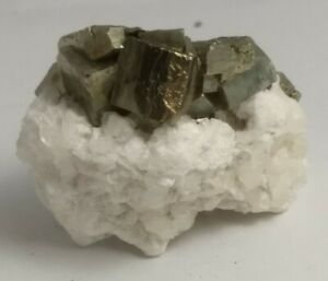 Gorgeous-pyrite-crystal-cluster-on-fluorescent-pyrite-Peru-95-9-grams
