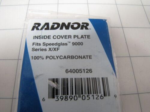 5pk Radnor 64005126 Inside Cover Plate fits 9000 Series X//XF Welding Helmets NEW