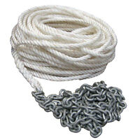 Powerwinch 250' Of 5/8 Rope 20' Of 5/16 Ht Chain
