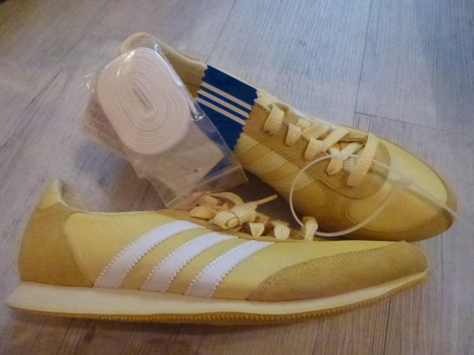 Original adidas Turnschuhe Running G44392 in gelb - N E U  | Qualität Produkt
