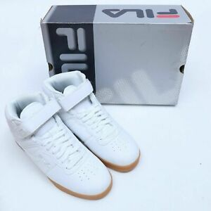 FILA VULC 13 WHITE CASUAL ATHLETIC SNEAKERS SIZE 7