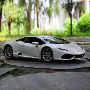 Lamborghini Huracan Lp 610 4 Model Cars Toys 1 24 Collection White