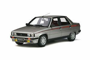 1-18-Otto-Models-OT540-Renault-9-Turbo-Ph-1-1984-Silver-620-cochesaescala