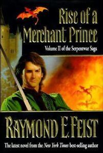 Feist-Raymond-E-Rise-of-a-Merchant-Prince-US-HCDJ-1st-1st-VG