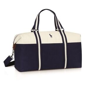 78a1e5c833 Ralph Lauren Polo Mens Weekend Holdall Duffel Sports School Gym ...