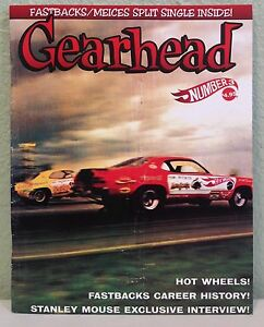 Gearhead-Magazine-3-Hot-Wheels-Fastbacks-Stanley-Mouse-Meices-7-034-Limited-Vinyl