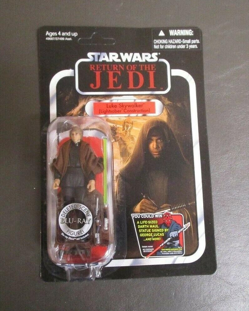 Luke Skywalker Lightsaber Construction STAR WARS Vintage Collection VC87 UNPUNCH