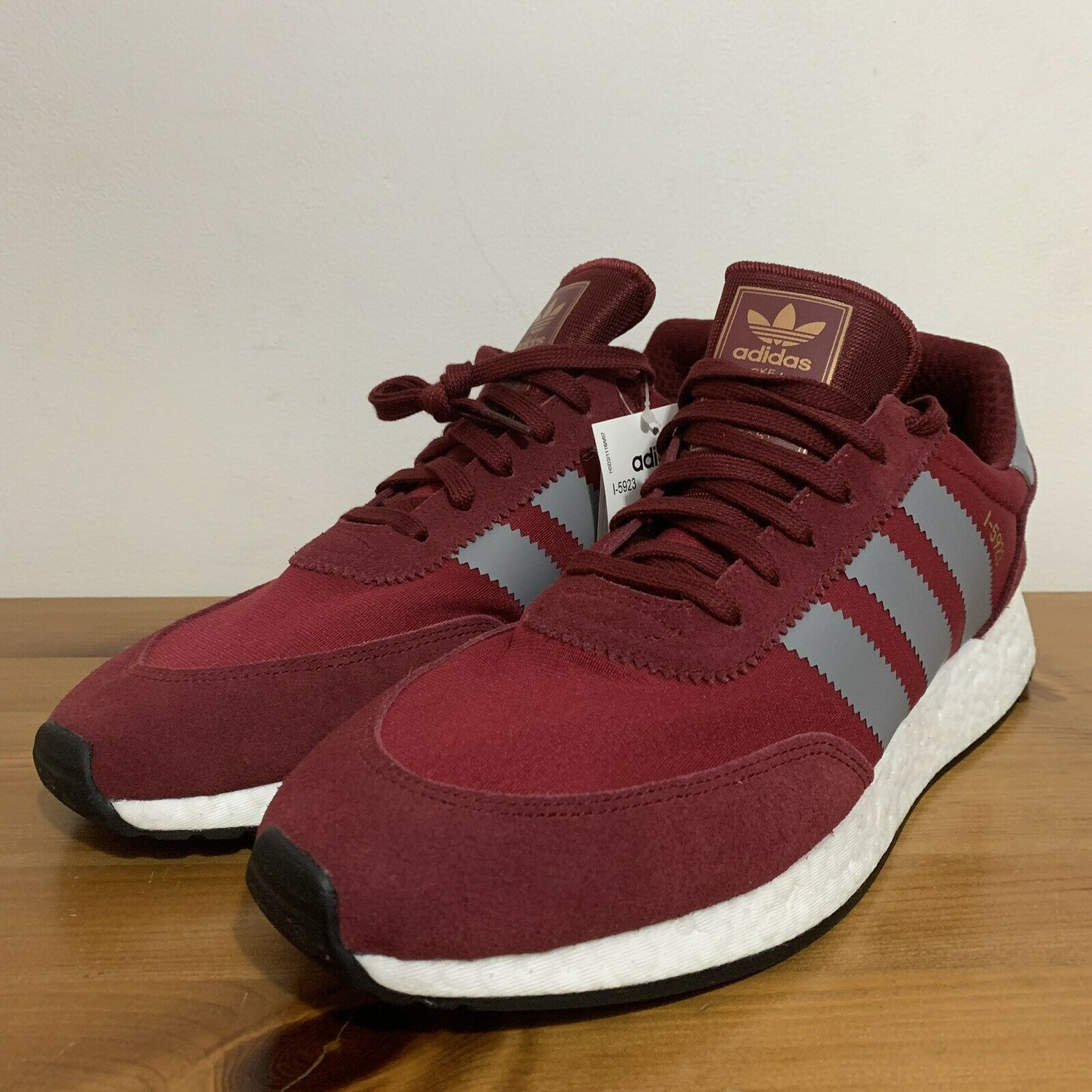 hot sale online a8809 32beb Original Inki N-5923 Burgundy Suede Fabric UK 11 Men s Trainers Red Adidas  ooizub3143-Men s Trainers. Adidas Originals ZX Flux ...