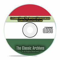 Learn How To Speak Hungarian, Fast Foreign Language Training Course, Cd D99