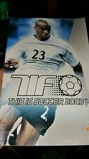 BOOKLET/MANUAL ONLY FOR THIS IS SOCCER 2003 PS2 (NO GAME) -  FREE POST