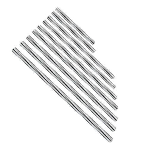 55-60HRC Argent Linéaire Rail Arbre pour 3D Imprimante Axes Doux Tige Accessoire