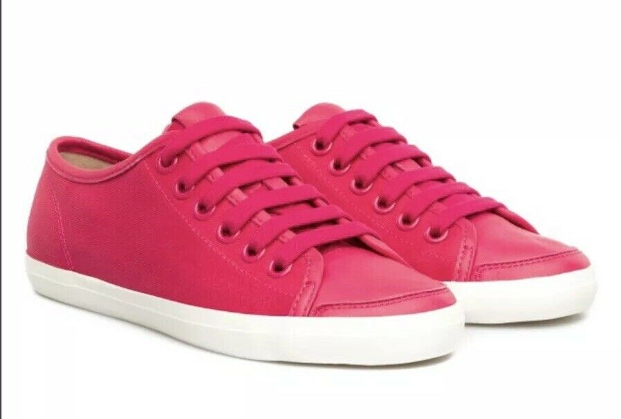 SH1 Camper Womens Motel Pink Lace Up Trainers SIZE