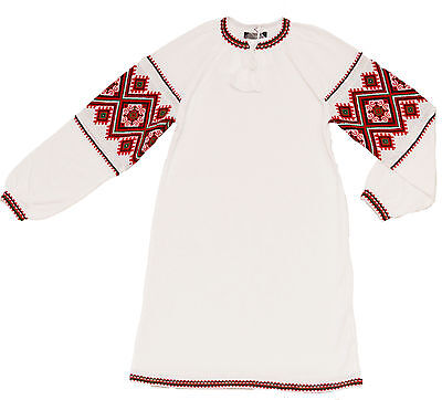 Ukrainian girl/'s dress embroidery print girls vyshyvanka shirt textile Ukraine