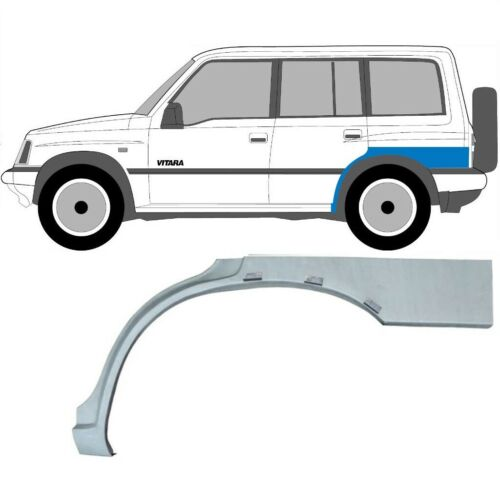 Paar Suzuki Vitara 1996-2003 5 Tür Läng Radlauf Reparaturblech Kotflügel