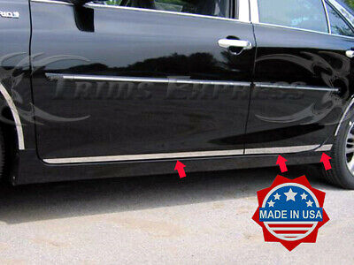 Stainless Steel Pillar Post Chrome Door Trim 4PC For Toyota Camry 2015-2017