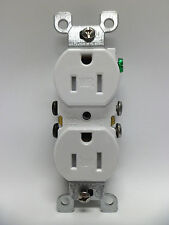 Leviton 15A Weather Tamper Resistant Duplex Receptacle W5320-TOW - White