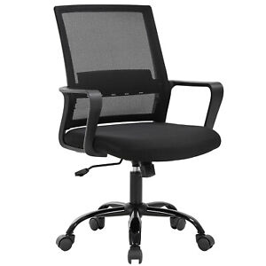 Outstanding Details About Home Office Chair Ergonomic Cheap Desk Chair Swivel Rolling Computer Chair Pdpeps Interior Chair Design Pdpepsorg
