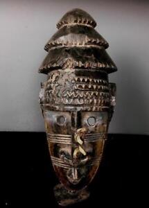 VECCHIO GRANDE Tribale Dogon Maschera Casco --- Mali BN 27
