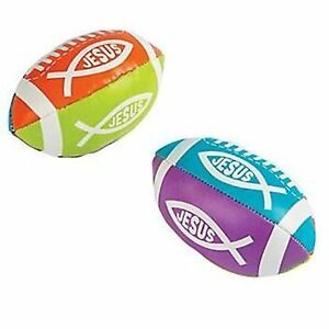 1-x-RELIGIOUS-FISH-FOAM-FOOTBALL-PARTY-FAVOURS-JESUS-PRINT-FOOT-BALL-FUN-GAME