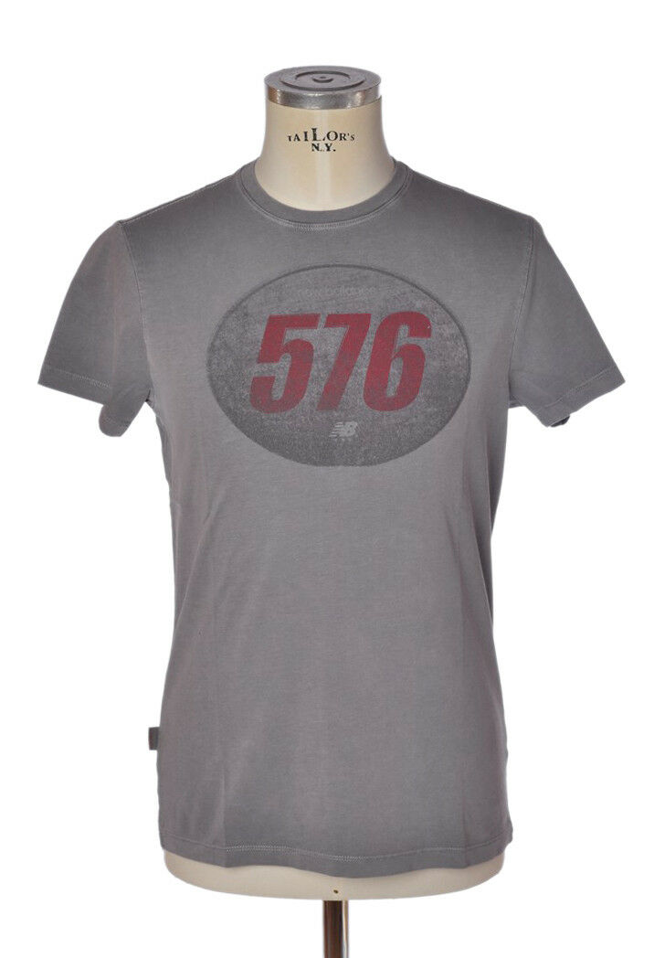 New Balance - Topwear-T-shirts - mann - grey - 798018C183508