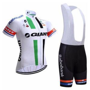 New Team Cycling Jersey Bib Shorts Set Ropa Ciclismo Men Bike Tops ... b7c387a66