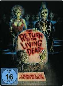 Return of the Living Dead-Dannazione, la Zombie [Blu-Ray nel Steelbook/Nuovo/Scatola Originale]