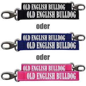 Kompetent Neopren Schlüsselanhänger Schlüsselband Old English Bulldog Hunde Dogs Rasse Beg