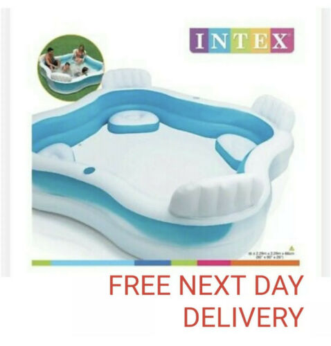 Toys Games Intex Inflatable Swimming Pool Family Lounge Large Paddling Swimming Seat Pool Com