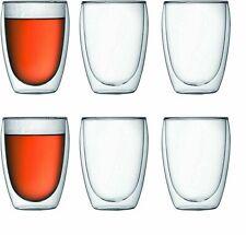 Borosil Us Vision Deco 10 Oz Drinking Glass Set Of 6 For Sale Online Ebay